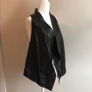 Diane Von Furstenberg  100 % leather vest